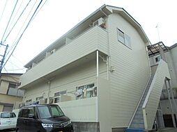 神奈川県横浜市港南区笹下4丁目の賃貸アパートの外観