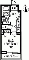 仮称)杉並区下高井戸1丁目レジデンス 3階1Kの間取り