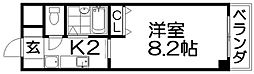 パークリセス[4階]の間取り