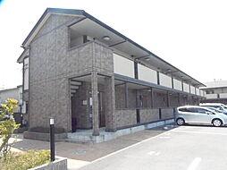 滋賀県栗東市綣8丁目の賃貸アパートの外観