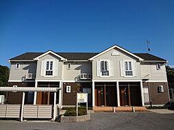 滋賀県愛知郡愛荘町沓掛の賃貸アパートの外観