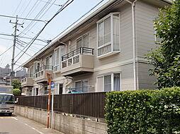 埼玉県所沢市西新井町の賃貸アパートの外観