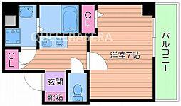 メイゾン都島[2階]の間取り