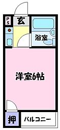 OMレジデンス白鷺[3階]の間取り
