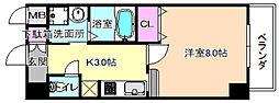 仮称)アーモンド樟葉[3階]の間取り