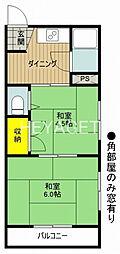 多摩平ハイム[3階]の間取り