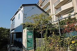 神奈川県川崎市多摩区中野島1丁目の賃貸アパートの外観