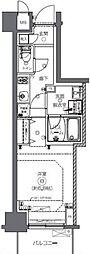 JR総武本線 馬喰町駅 徒歩2分の賃貸マンション 7階1Kの間取り
