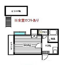 ピアハイム須玖[103号室]の間取り