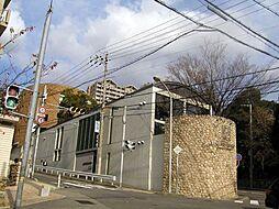 サンハイツ新田[1階]の外観