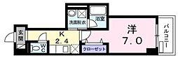 JR京浜東北・根岸線 浦和駅 徒歩10分の賃貸マンション 1階1Kの間取り