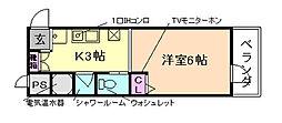 OZ COURT[2階]の間取り