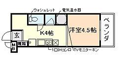 OZ COURT[5階]の間取り