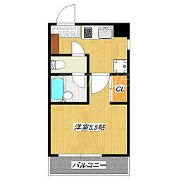 サニーコーポ[1階]の間取り