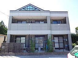 滋賀県愛知郡愛荘町沓掛の賃貸マンションの外観