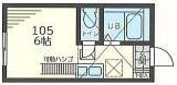 Infina横浜[105号室]の間取り