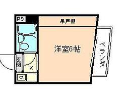 ラコンテ・スイエル[7階]の間取り