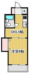 上北沢スカイライトビル[2階]の間取り