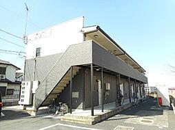 埼玉県入間郡毛呂山町大字小田谷の賃貸アパートの外観