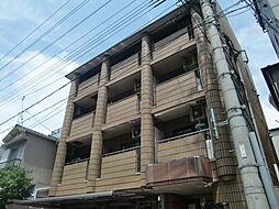 兵庫県神戸市灘区記田町4丁目の賃貸マンションの外観