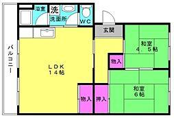 浜の宮駅 2.1万円