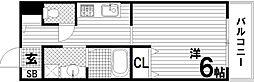 KHKコート板宿[5階]の間取り