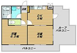 ファーストハウス[3階]の間取り
