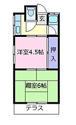 佐藤文化[1階]の間取り