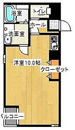コートヴィラ・サヌイ[306号室]の間取り