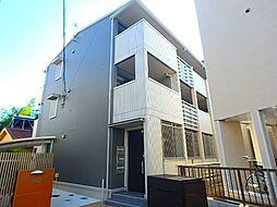 神奈川県相模原市中央区相模原3丁目の賃貸アパートの外観