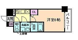 エスリード新福島[2階]の間取り