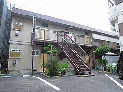 大阪府豊中市北桜塚4丁目の賃貸アパートの外観