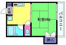ATホーム[2階]の間取り