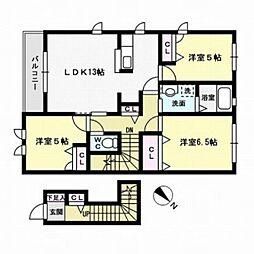 サニーヒルA棟[2階]の間取り