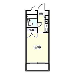 est porte[412号室]の間取り