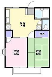 メゾンド・ユイ[2階]の間取り