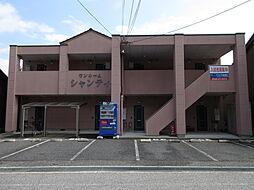 滋賀県彦根市新町の賃貸アパートの外観