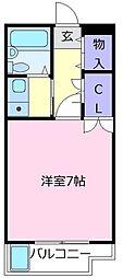 レヂオンス北野田壱番館[3階]の間取り
