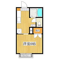 シャーメゾン駒込[1階]の間取り