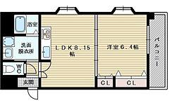 パレス東洋小松館[2階]の間取り