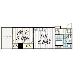 金太郎ヒルズ215[104号室]の間取り