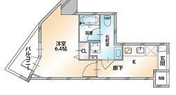 Valore Nishisugamo(ヴァローレ西巣鴨) 9階1Kの間取り