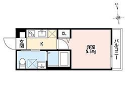 Summer Club 座間(サマークラブザマ)[2階]の間取り