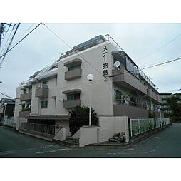 東京都昭島市中神町の賃貸マンションの外観