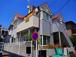 神奈川県横浜市港北区綱島東1丁目の賃貸アパートの外観