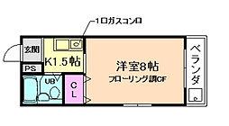 メゾンエマーブル[2階]の間取り