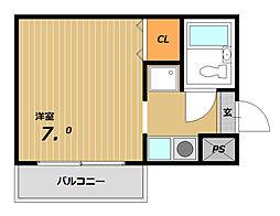 エクレールハイツ[2階]の間取り