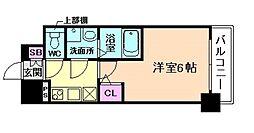 エスリード新福島[3階]の間取り
