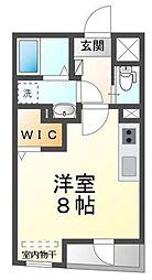 JR京浜東北・根岸線 大宮駅 徒歩9分の賃貸マンション 2階ワンルームの間取り