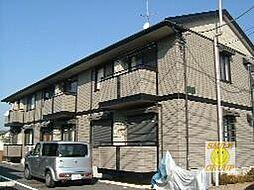 千葉県市川市中国分2丁目の賃貸アパートの外観